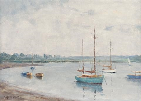 on the river deben another pair by leslie kent