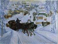 fete de l'hiver by nikolai smirnov