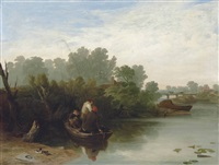 boys fishing by william mulready