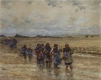 bringing the catch ashore by robert weir allan