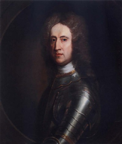 portrait of general james oglethorpe wearing armour by william aikman
