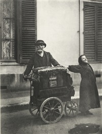 atget (portfolio of 20) by berenice abbott and eugene atget