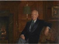 portrait of david sarnoff by john koch