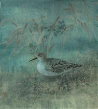 芦雁图 by jiang hongwei