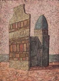 architecture by domenico gnoli
