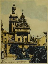 kościół bernardynów we lwowie by odo (otton) dobrowolski