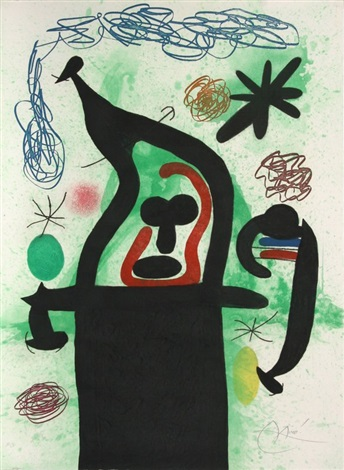 la harpie by joan miró