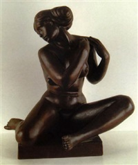 classical nude by george manuel aarons