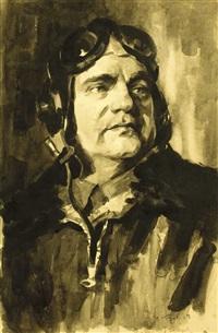 air lieutenant colonel kozyrev by ivan aleksandrovich krylov