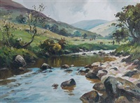 the glendun river by donal mcnaughton