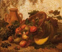 nature morte by emile van marcke de lumen