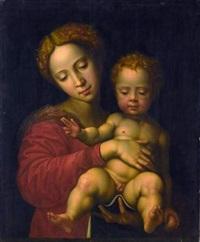 la vierge à l'enfant by vincent sellaer