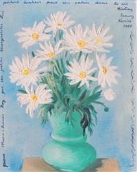vase de marguerites by moïse kisling