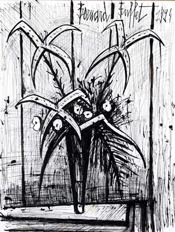 bouquet by bernard buffet