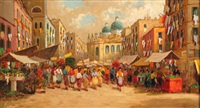 mercato in piazza by luca albino