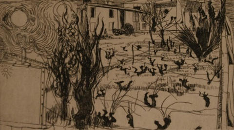 the back of the asylum st remy by brett whiteley