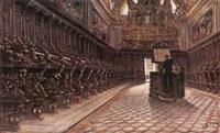 interno di chiesa by domenico battaglia