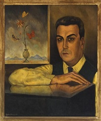 retrato de enrique asúnsolo by roberto montenegro
