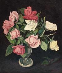 rosenstillleben by max kahrer