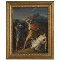 the battle between orazi and curiazi by luigi maldarelli