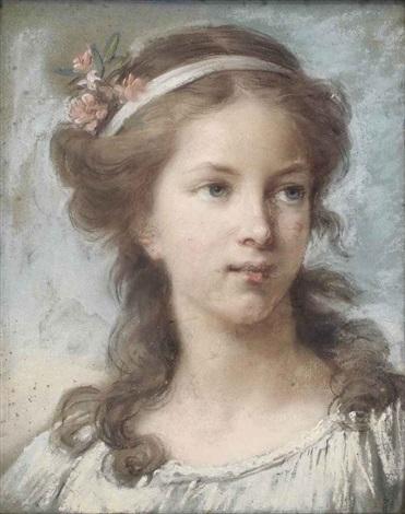 portrait de jeune fille by elisabeth louise vigée le brun
