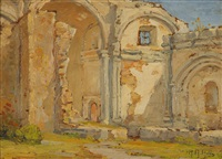 mission san juan capistrano by anna althea hills