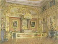 la chambre du roi à versailles by emanuel stöckler