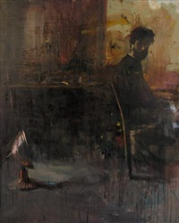 self-portrait by yorgos rorris