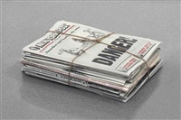 newspaper by robert gober