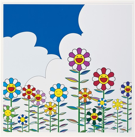 flowers by takashi murakami