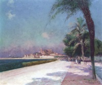 la croisette à cannes by antoine ponchin