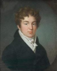 portrait de jeune homme by orest adamovich kiprensky