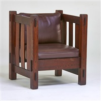 cube chair by j.m. young