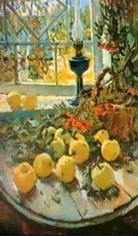 nature morte d'automne by alexandre bobovski