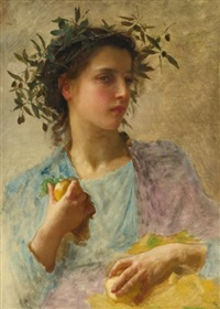 l'été by william adolphe bouguereau