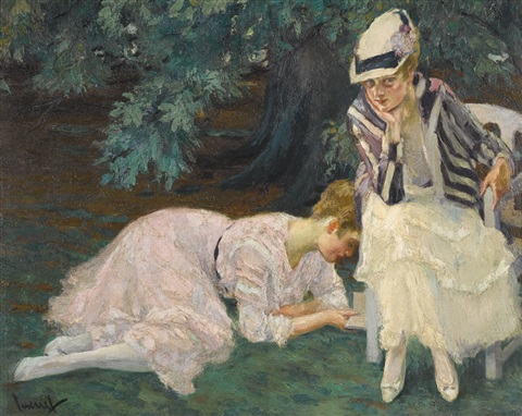stille stunde a quiet hour by edward cucuel