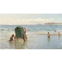 the nursery bathers by hamilton macallum