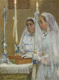 the communicants by gari melchers