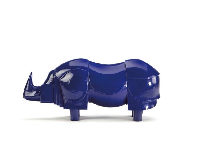 Rhinoceros bleu by François-Xavier Lalanne on artnet