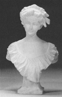bust of a girl by morin
