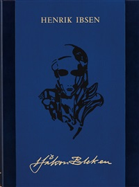 ibsenmappe: hedda gabler (portfolio of 30 w/text) by håkon bleken