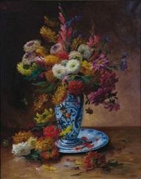bouquet de fleurs by roger godechaux