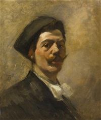 portrait of a william merritt chase by frank duveneck