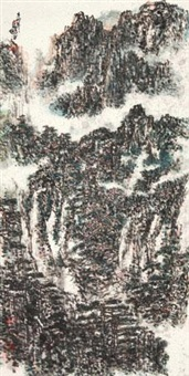 春山云隐 (forests) by ma peng