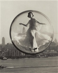 bubble over new york by melvin sokolsky