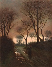 between autumn and winter by joseph malachy kavanagh