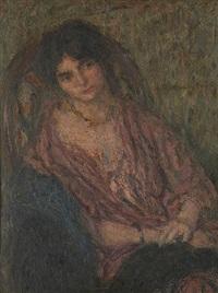 tendre femme by edmond françois aman-jean