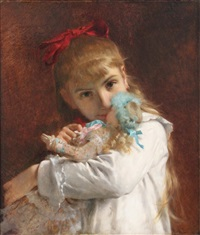 little girl by pierre auguste cot