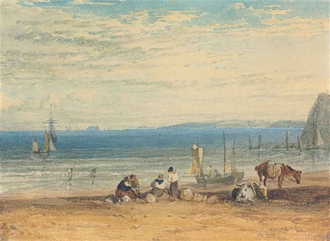 babbacombe bay from near teignmouth, devon by joseph mallord william turner