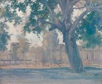 temple d'angkor vat by francois marie léon de marliave